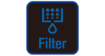 Filter light indicator