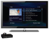 NTV350 product image tv with screenshot