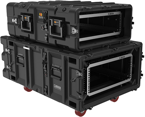 Pelican Products V series classic super rack mount hard cases