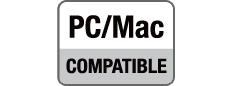 PC & Mac Compatible