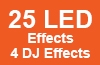 25 LED Effects 4 DJ Effects