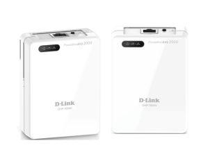 d link dhp 701av powerline av2 2000 gigabit network kit techbuy australia. Black Bedroom Furniture Sets. Home Design Ideas
