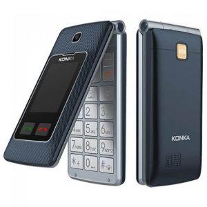Konka U3 (3G, Flip Phone) - Titanium Black  Techbuy Australia