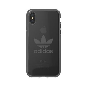 timeless design 39ba0 89d1b Adidas Originals Clear Case suits iPhone X - Gunmetal Logo (29220 ...