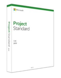 Microsoft Project Standard 2019 - Electronic License (076-05785