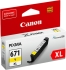 Canon CLI-671XLY #671XL Extra Large Ink Cartridge - Yellow For Canon G5760, MG5765, MG5766, MG6860, MG6865, MG6866, MG7760, MG7765 and MG7766 Printers.