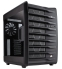 "Corsair Carbide Air 740 High Airflow Cube Case - NO PSU, Black 3.5"" Bay(3), 2.5"" Bay(4), PCI-E Slots(8), USB3.0(2), HD Audio, 140mm Front Fan(2), 140mm Rear Fan(1), ATX"