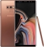 "Samsung Galaxy Note 9 Handset - 128GB, Copper 6.4"" QHD Super AMOLED, 6GB-RAM, 128GB-ROM, Wifi, BT, NFC, 8MP/12MP-CAM(Front/Rear), MicroSD, IP68, 4000mAh Battery, Dual-Sim, Android Oreo"