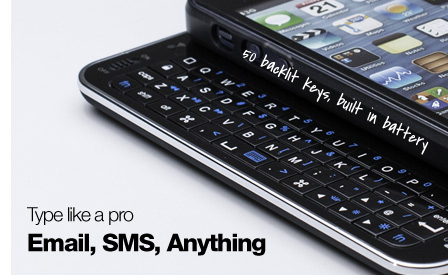iPhone 6 slide out keyboard cases