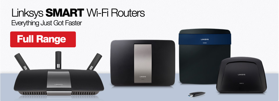 Linksys Smart Wi Fi routers